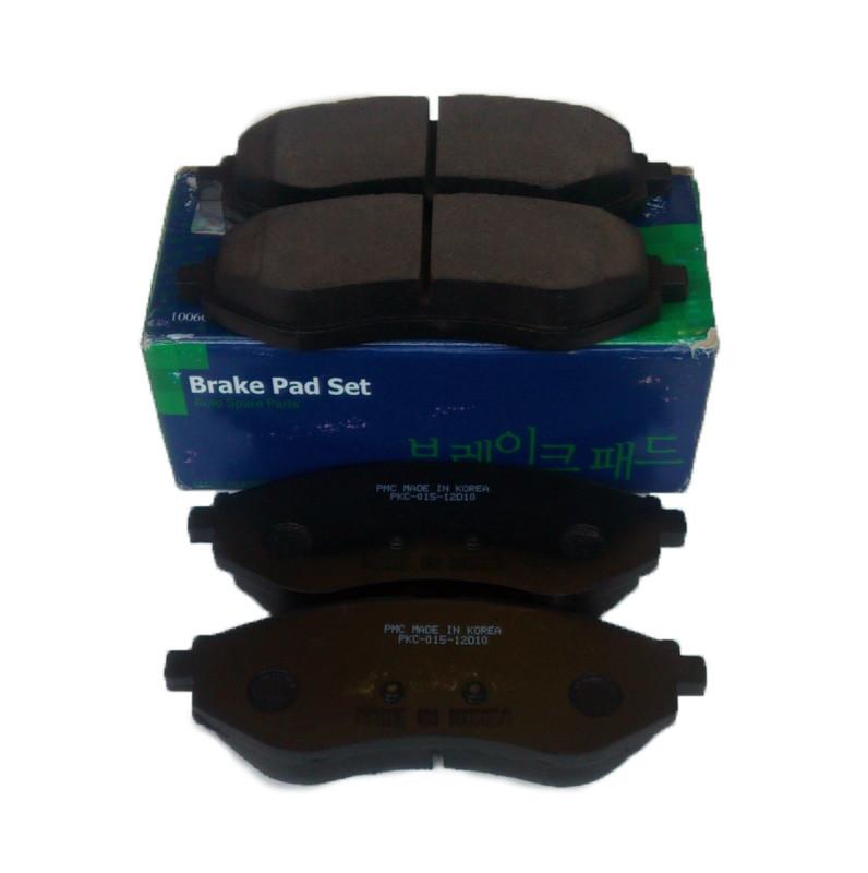 Колодки гальмівні дискові PMC Авео / Aveo, Parts-Mall P96534653