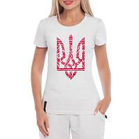 GlobusPioner Женская футболка Герб Украины 67070