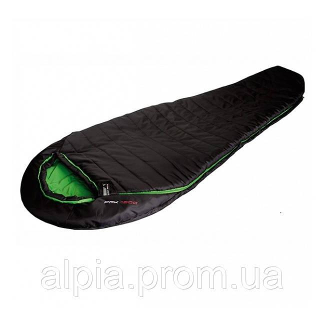Спальный мешок High Peak Pak 1300 /+3°C (Right) Black/green