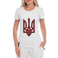 GlobusPioner Женская футболка Украина расцветет 34328