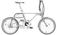 Электрический велосипед Tsinova ION (белый, черный, синий)
