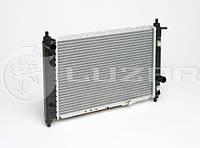 Радиатор охлаждения Матиз автомат (алюм-паяный) (LRc DWMz98233) ЛУЗАР