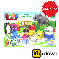 "Конструктор ""Зоопарк"" JDLT Happy Zoo 5083"