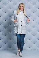 ЖІноча осіння куртка  з горошками.Р-ри 42-58, фото 1