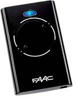 Пульт FAAC XT2 868 SLH LR  2-х канальный черный