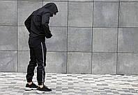 Штаны джогеры Quest Wear черные с рефлективной полосой