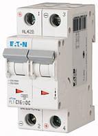 Автоматический выключатель постоянного тока 2-полюсный PL7-C16/2-DC Moeller-EATON ((CC))(264902-)2/16, 264902