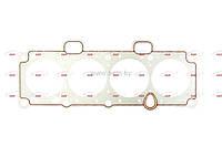 Прокладка ГБЦ 2108- 2115, дв.1,5;1,6 8 кл. (82.0) (метал)