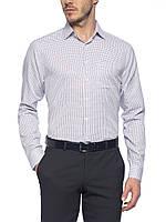 Мужская рубашка LC Waikiki/ЛС Вайкики пурпурного цвета в мелкую клетку, фото 1
