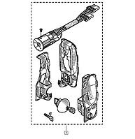 Комплект 3-ри замку + замок запалювання на Renault Trafic 01-> (двері распашенка) — Renault - 7701208340