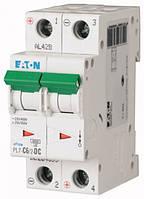 Автоматический выключатель постоянного тока 2-полюсный PL7-C6/2-DC Moeller-EATON ((CC))(264899-)2/6 , 264899