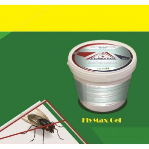 ФлайМакс Гель (FlyMax Gel), инсектицид от мух, 0,5л