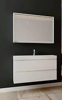 Комплект мебели для ванной (тумба, умывальник,  зеркало) Savona Juventa (Sv-100+SvM-100)