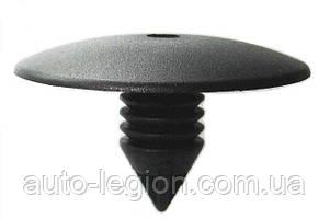 Клипса крепления передних подкрылков (чёрная, круглый вход) на Renault Trafic  2001-> — Китай  -  SK-0252