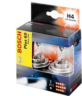 Комплект галогенных ламп H4 12V 60/55W (свет +60%) на Renault Trafic 2001-> — Bosch (Германия) - 1987301070