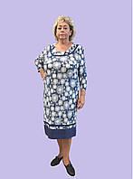 """Женское платье """"Одуванчик"""", р. 54-62. Модель № 079"""