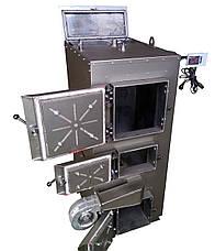 Двухконтурный твердотопливный пиролизный котел 80 кВт , фото 2