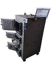 Двухконтурный твердотопливный пиролизный котел 80 кВт , фото 3