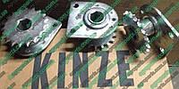 Звездочка GA1720 с кронштейном и подшипником AA36212 запчасти Kinze блок звёздочка a1720 Кинза, фото 1