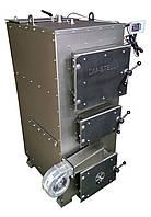 Двухконтурный твердотопливный пиролизный котел 100 кВт