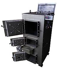 Двухконтурный твердотопливный пиролизный котел 100 кВт, фото 2