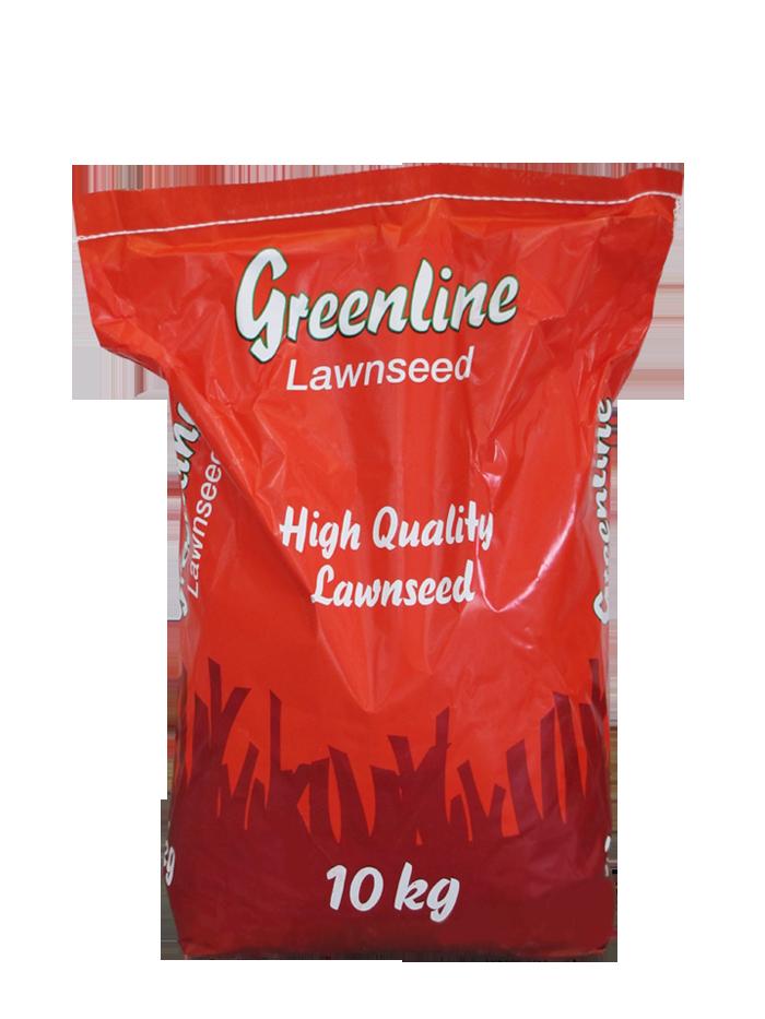 Трава газонная универсальная Greenline, 10 кг — семена газонной травы для затененных и солнечных участков