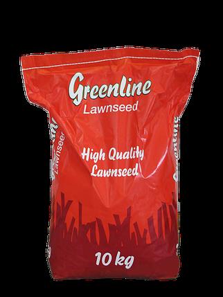 Трава газонная универсальная Greenline, 10 кг — семена газонной травы для затененных и солнечных участков, фото 2