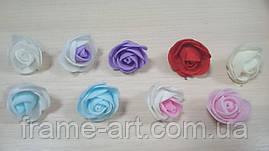 Голова розы 3-3,5 см 3290