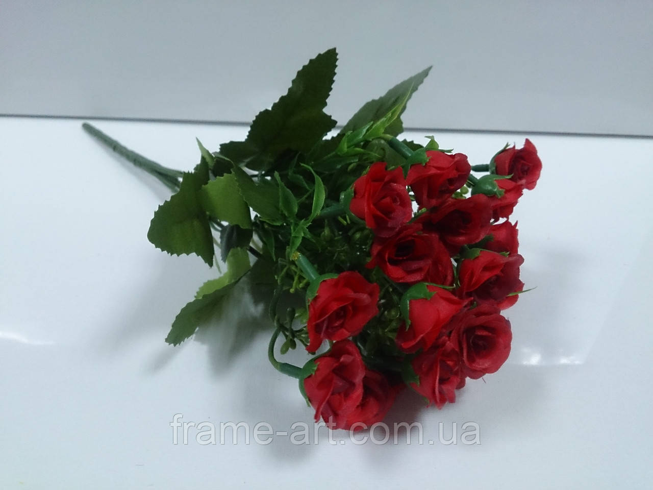 Цветы букет Розочки мини №1628-2 красные