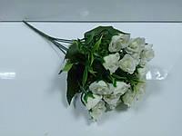 Цветы букет Розочки мини №1628-4 белые