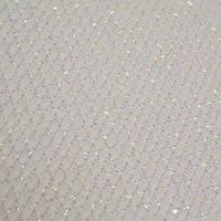 Канва Корея S14SIL Aida Premium №14 50х50см біла з люрексом