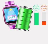 Как заряжать детские смарт часы с GPS?