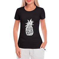 GlobusPioner Женская футболка Ананас, привет лето 65651