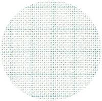 Канва Корея S14BR Aida Premium №14 50х50см біла росчерченная