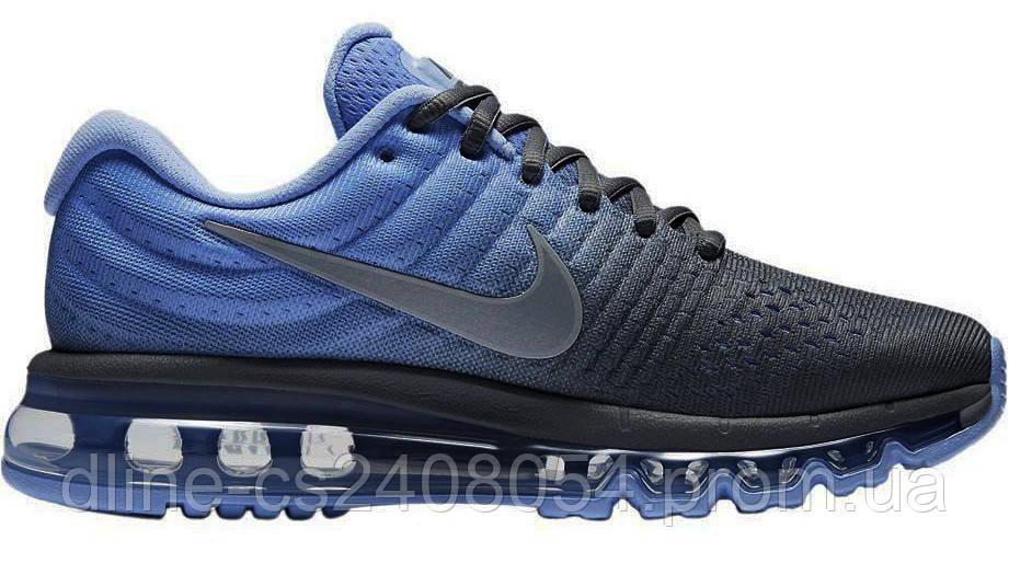 Женские кроссовки Nike Air max 2017 Grey Blue
