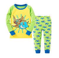 Пижамка детская мальчику реглан и штаны