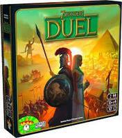 7 чудес дуэль, 7 Wonders Duel, настольная игра (на укр.)
