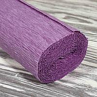 Креп-бумага №А-22 50см*2,5м 180 г/м2 фиолет Китай