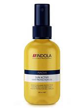 Масло для защиты волос Sun Active, Indola 100мл