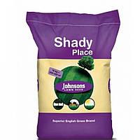 Трава газонная теневая Johnsons 10 кг - семена газонной травы для затененных участков. Тенеустойчивая