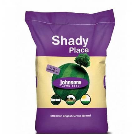 Трава газонная теневая Johnsons 10 кг — семена газонной травы для затененных участков. Тенеустойчивая, фото 2