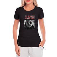 GlobusPioner Женская футболка Гражданская Оборона 64814