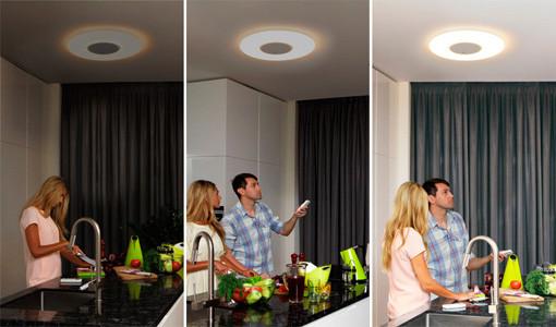Светодиодные светильники с пультом управления