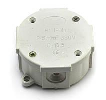 Розподільна коробка Р1, клема 4х2,5, 80х80х45мм IP 41