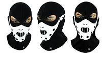 Балаклава маска с рисунком Черепа, фото 1