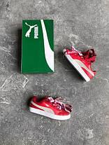 Женские кроссовки Puma x Rihanna Basket Heart Red, Пума Риана, фото 3