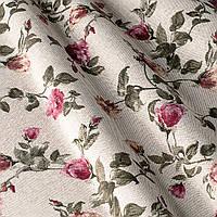 Ткань для штор хлопок в мелкий цветок