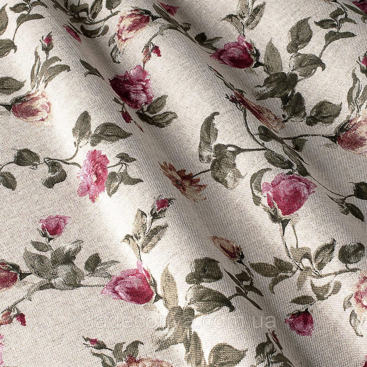 Складываем ткань в цветок