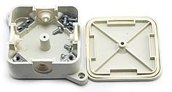 Распределительная коробка Р2, клема 4х2,5, 90х90х45мм IP 41