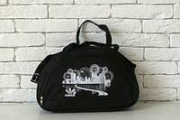 Сумка брендовая,черная Adidas, Адидас, Р1590